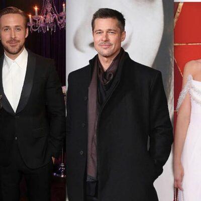Brad Pitt Margot Robbie Ryan Gosling Emma Stone