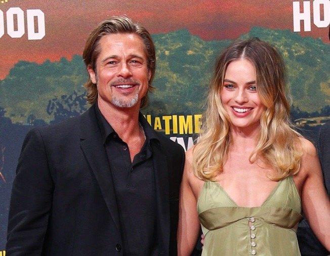 Brad Pitt Margot Robbie Secret Dates Europe
