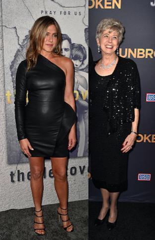 Brad Pitt Mom Jennifer Aniston