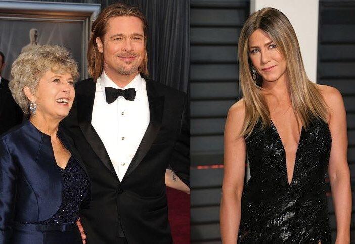 Brad Pitt Mom Jennifer Aniston Back