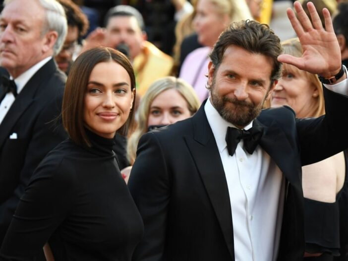 Bradley Cooper and Irina Shayk arrive for the 91st Annual Academy Awards