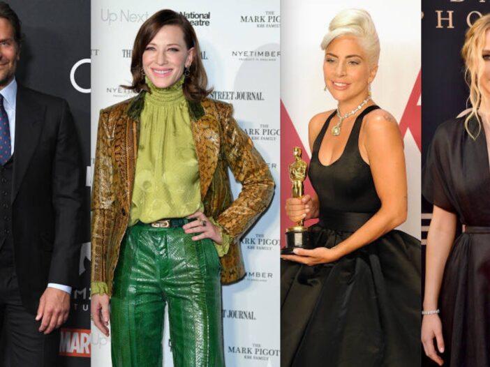 Bradley Cooper Cate Blanchett Lady Gaga Jennifer Lawrence