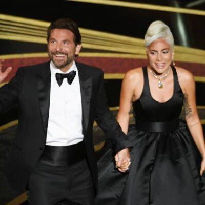 Bradley Cooper Lady Gaga Oscar Party