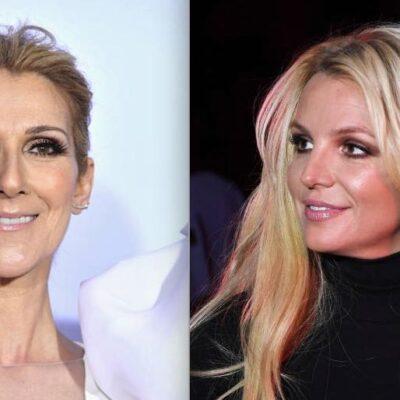 Britney Spears Celine Dion Las Vegas