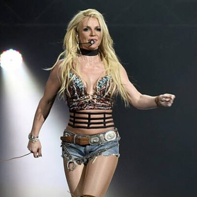 Britney Spears Working Out Junk Food