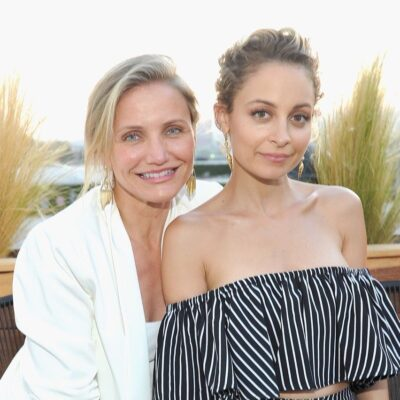 Cameron Diaz and Nicole Richie attend House of Harlow 1960 x REVOLVE