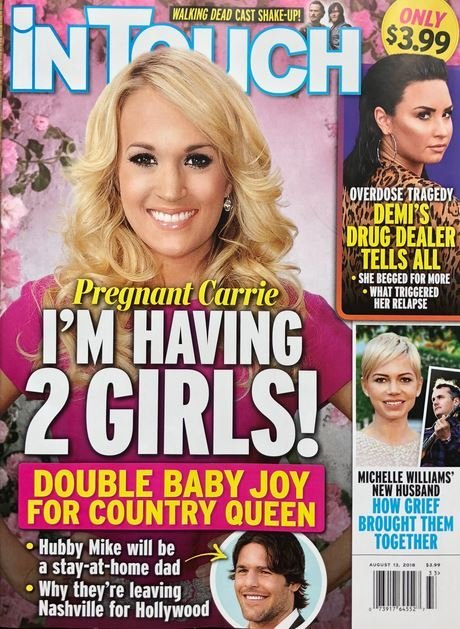 Carrie Underwood Pregnant Two Girls