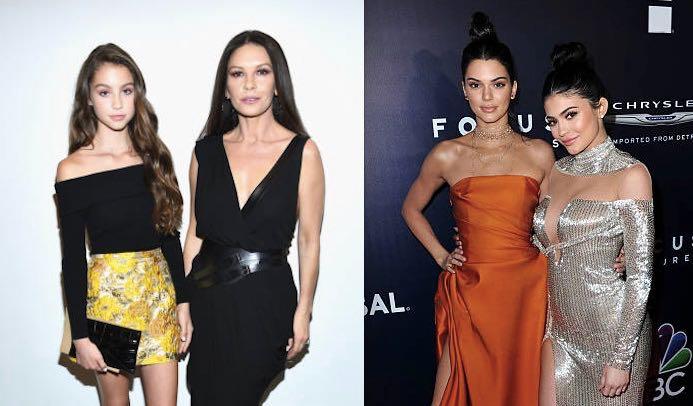 Catherine Zeta Jones Michael Douglas Kendall Kylie Jenner