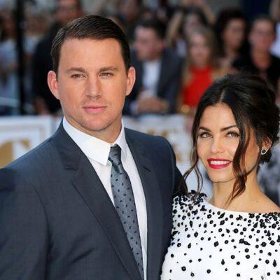 """Channing Tatum and his wife Jenna Dewan-Tatum attend the European Premiere of """"Magic Mike XXL"""""""
