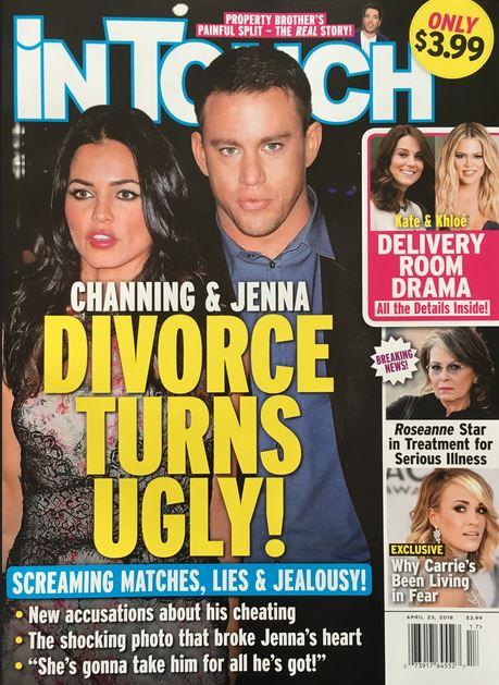 Channing Tatum Jenna Dewan Divorce Ugly