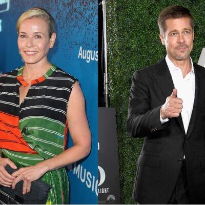 Chelsea Handler Brad Pitt Date