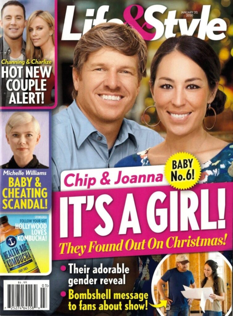 Chip and Joanna Gaines Star cover story about a sixth baby