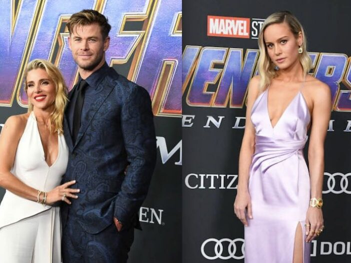 Chris Hemsworth Brie Larson Elsa Pataky