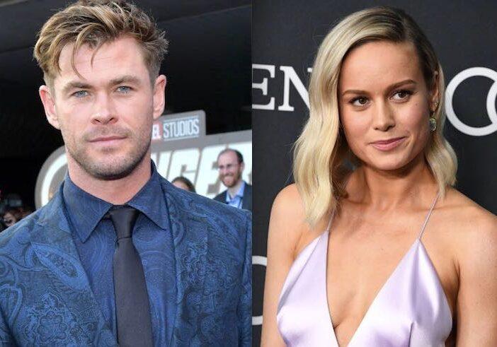 Chris Hemsworth Brie Larson Feuding