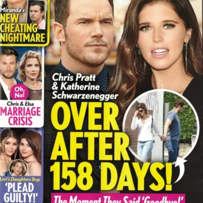 Chris Pratt and Katherine Schwarzenegger Life & Style cover story about a marriage crisis