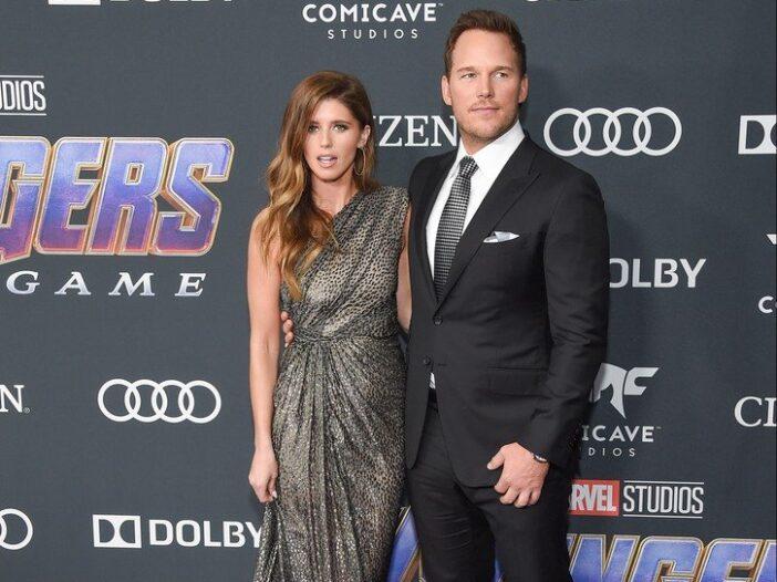Chris Pratt and Katherine Schwarzenegger attend the premiere of Avengers: Endgame in LA