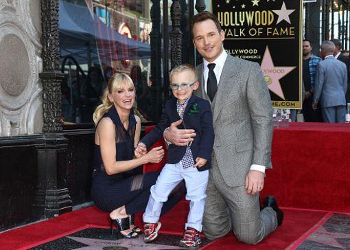 Chris Pratt Anna Faris Son Split