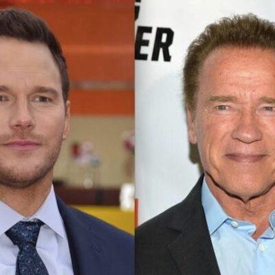 Chris Pratt Arnold Schwarzenegger Feud