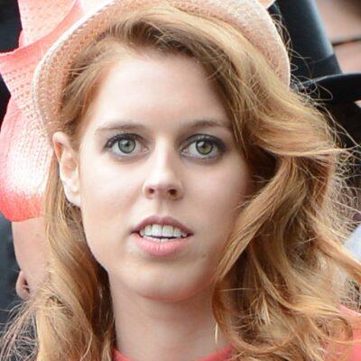 Close up of Princess Beatrice