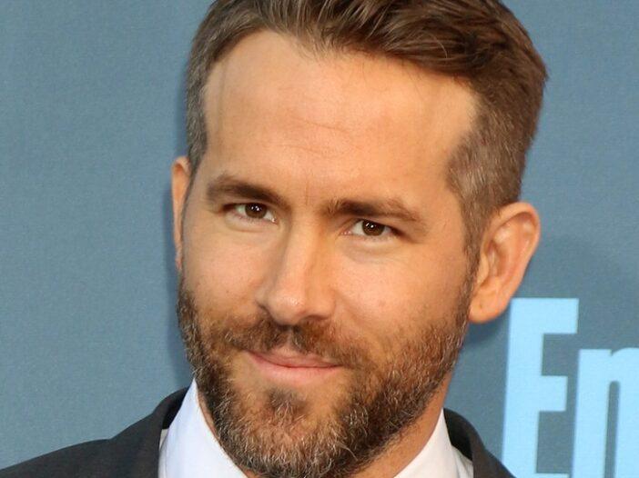 Close up of Ryan Reynolds