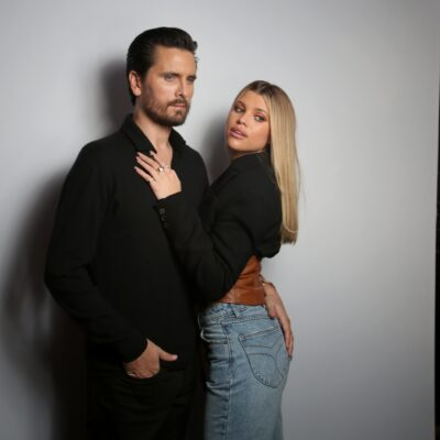 cott Disick and Sofia Richie attend Rolla's x Sofia Richie Launch Event at Harriet's Rooftop