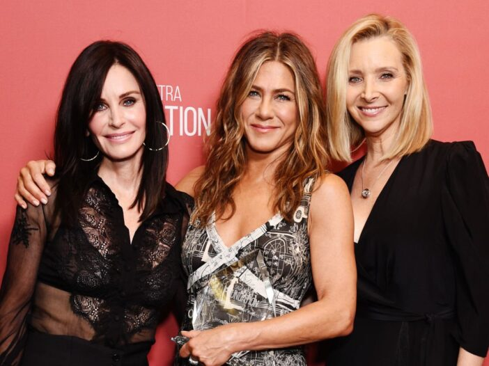 Courteney Cox, Jennifer Aniston and Lisa Kudrow attend SAG-AFTRA Foundation's 4th Annual Patron of t