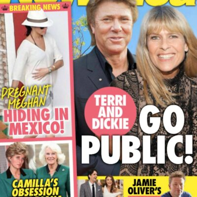 cover of New Idea magazine with Terri Irwin and Dickie Wilkens and text saying Go Public