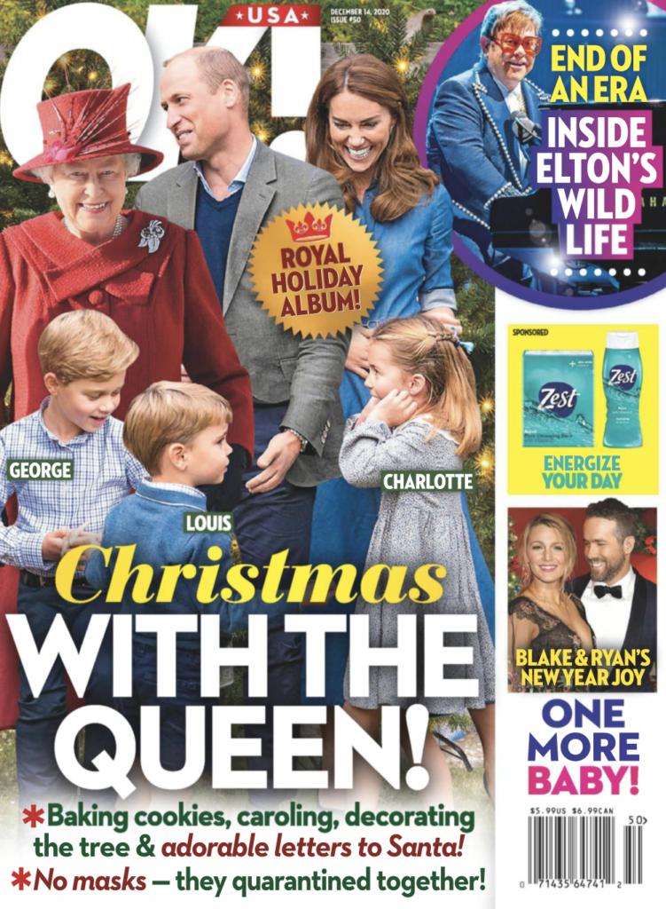 Cover of OK! Magazine for December 14th, 2020.