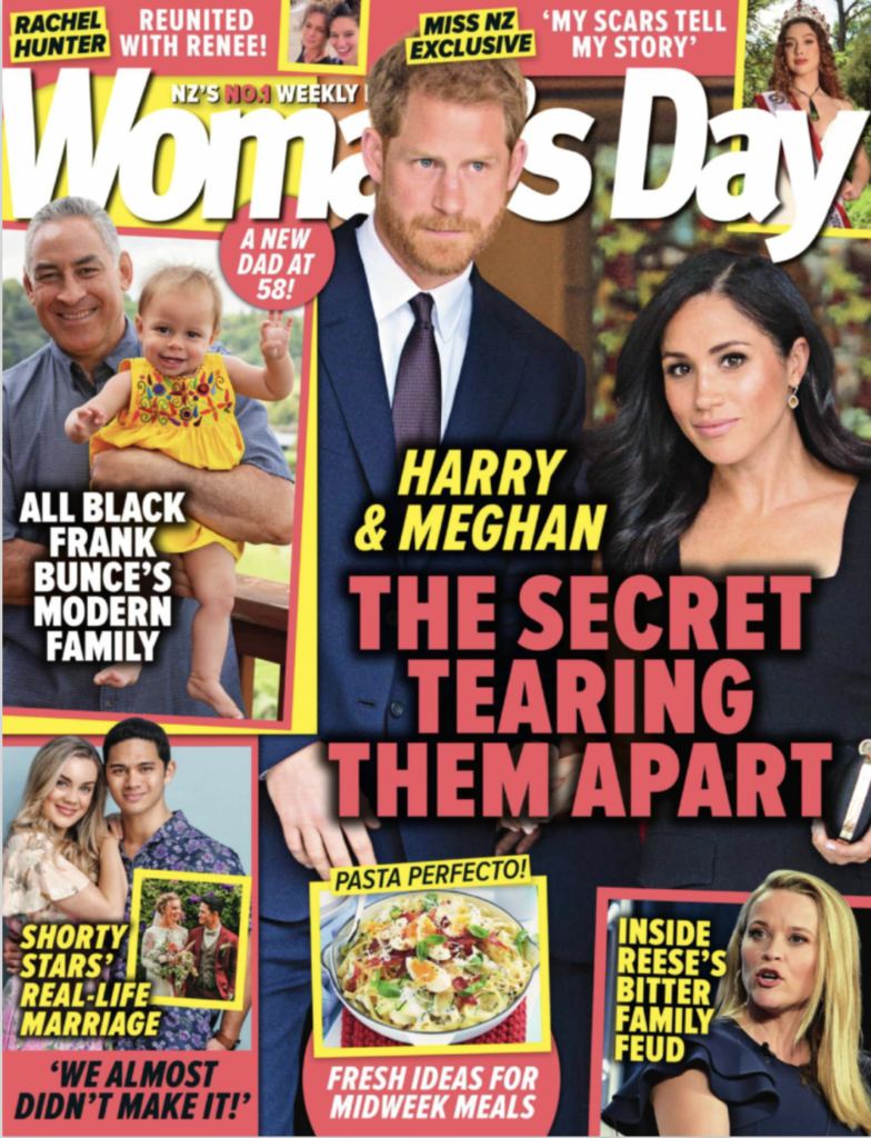 Cover of Woman's Day magazine