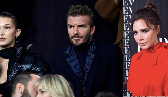 David Beckham Victoria Bella Hadid