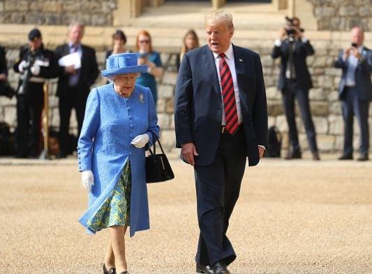 Donald Trump Queen Elizabeth Faux Pas