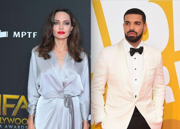 Drake Angelina Jolie