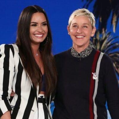 Ellen DeGeneres Demi Lovato Live Together
