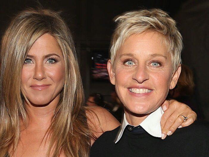 Ellen DeGeneres Jennifer Aniston Love