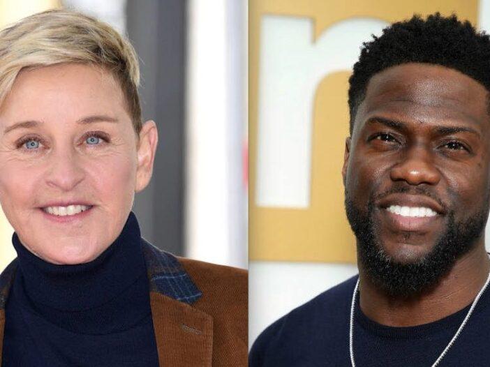 Ellen DeGeneres Kevin Hart Leaving Show