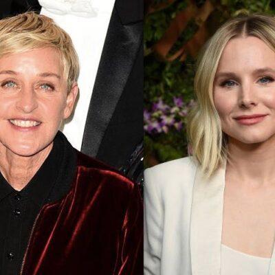 Ellen DeGeneres Kristen Bell Talk Show
