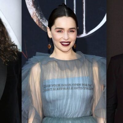 Emilia Clarke Kit Harington Jason Momoa