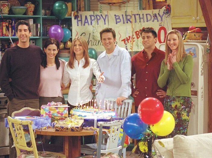 "NBC's comedy series ""Friends."""