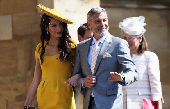 George Amal Clooney Renew Vows