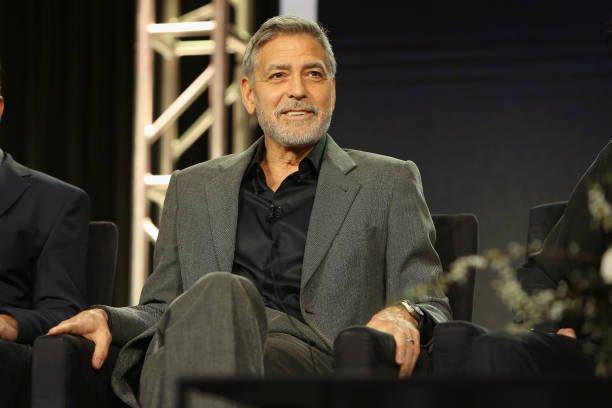 George Clooney Addicted Painkillers