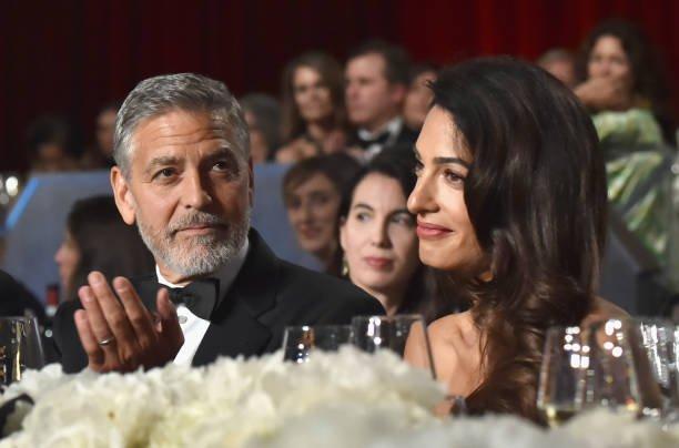 George Clooney Amal Divorce Renew Vows Baby