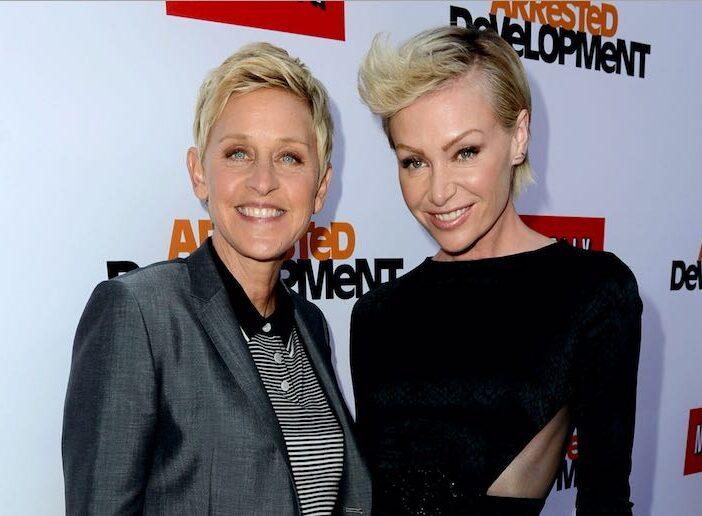 Ellen DeGeneres Portia de Rossi Divorce Baby