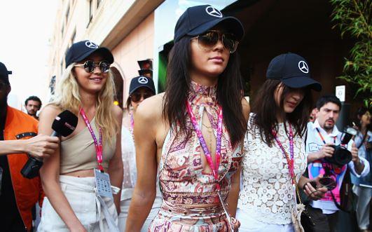 Gigi Bella Hadid Reaction Kendall Jenner Anwar