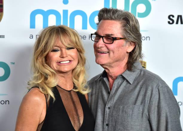 Goldie Hawn Kurt Russell Split