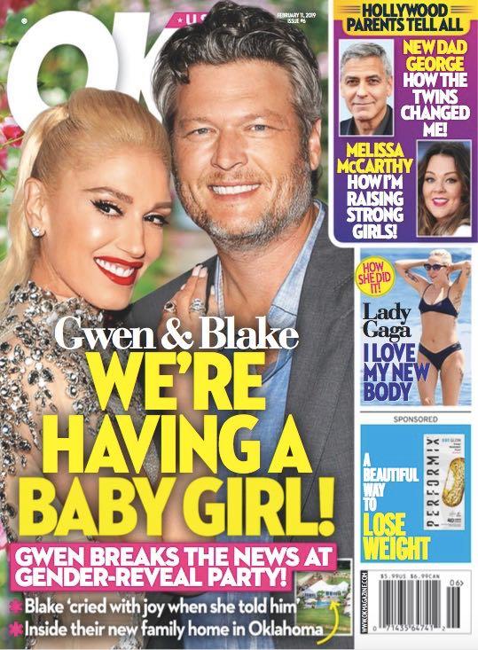 Gwen Stefani Blake Shelton Baby Girl