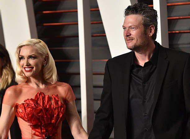 Gwen Stefani Blake Shelton Married Backyard