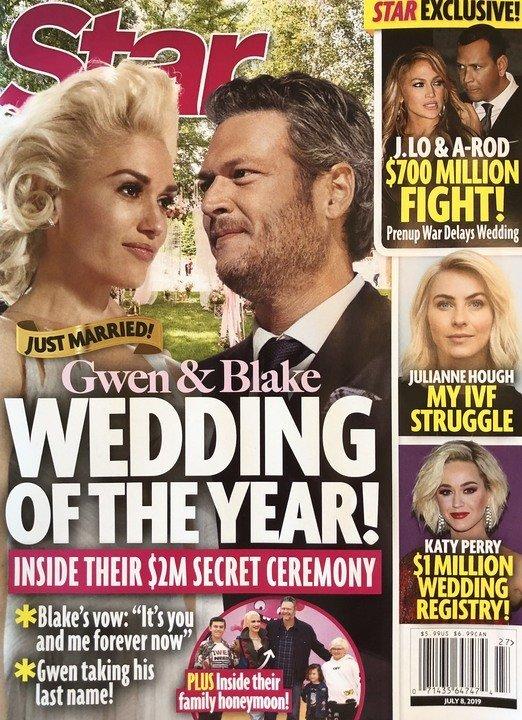 Gwen Stefani Blake Shelton Wedding 2 Million Oklahoma