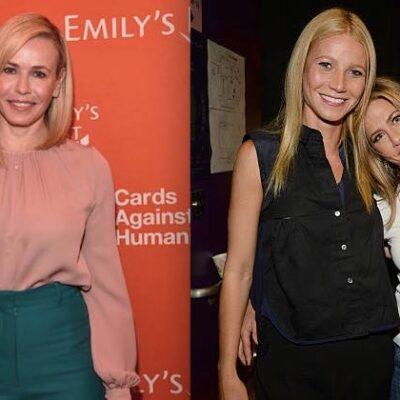 Gwyneth Paltrow Jennifer Aniston Chelsea Handler
