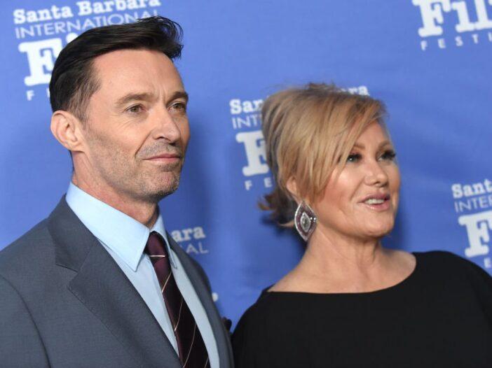 Hugh Jackman and Deborra-Lee Furness attend the 34th annual Santa Barbara International Film Festiva