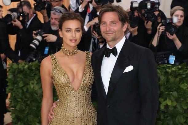 Irina Shayk and Bradley Cooper attend the Metropolitan Museum of Art